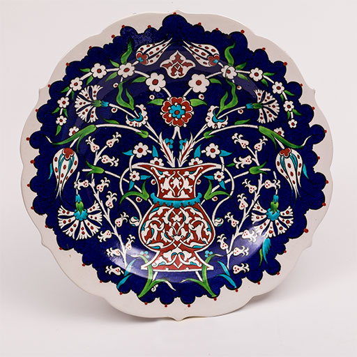 Cini (Turkish ceramic plate)