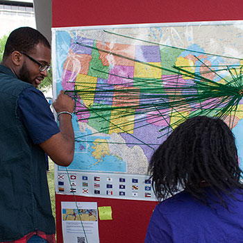 On the Move: Mapping Migration