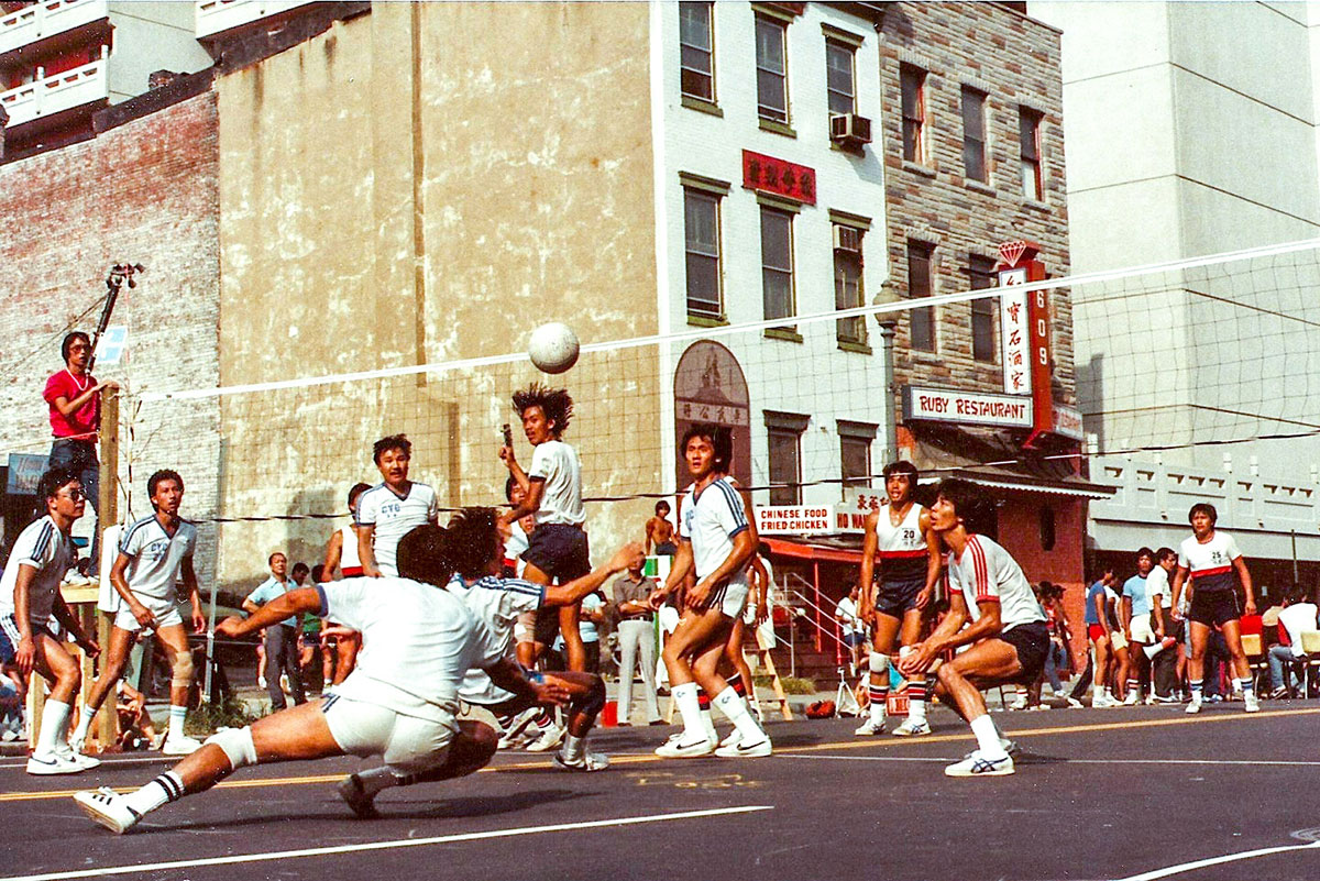 9-Man Volleyball: The Unofficial Official Sport of American Chinatowns