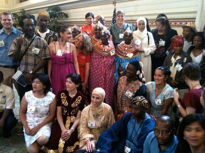 Peace Corps Reception