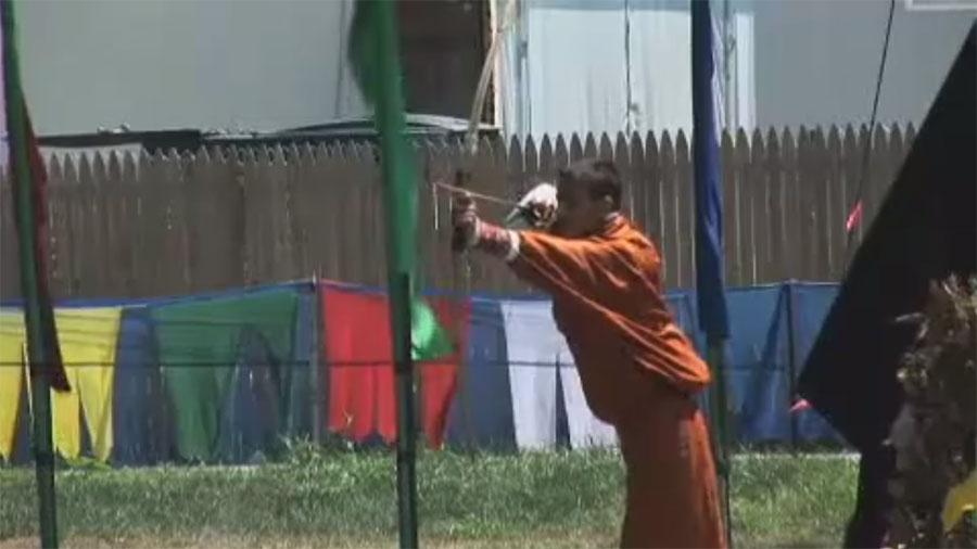 "Demonstrating Bhutanese Archery: ""Its Not Like Basketball"""
