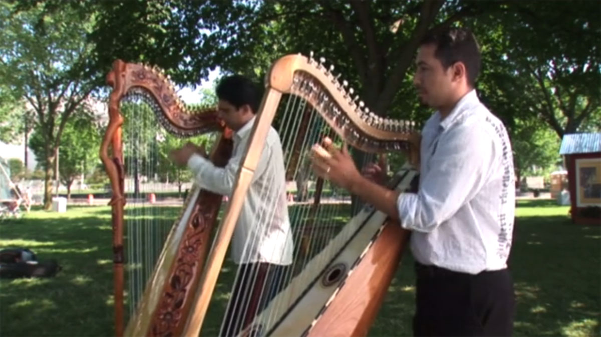 Harp Traditions from Paraguay and Mexico