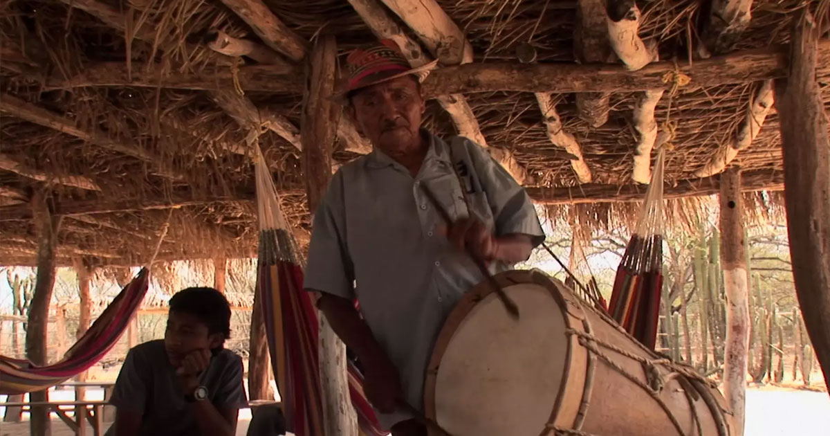 Traditional Drumming in Colombia