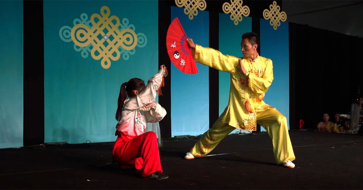 Tai Chi and Fu Chen Fight Performance