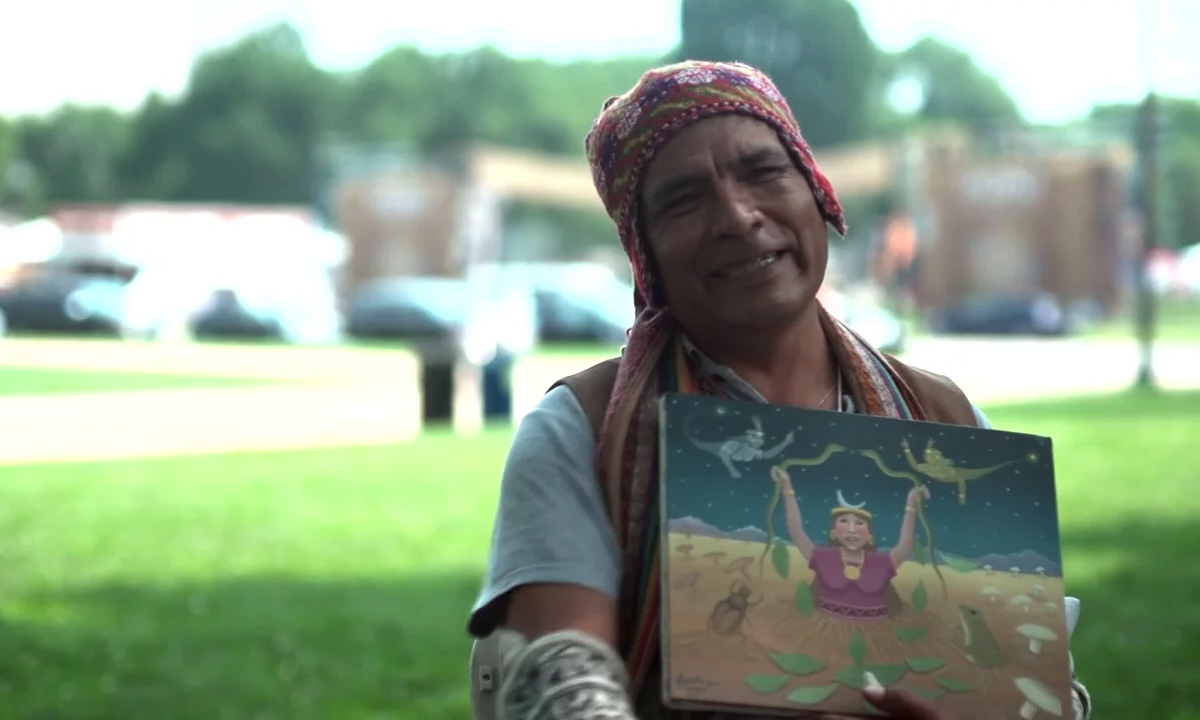 Angel Callañaupa: Honoring Pachamama through Painting