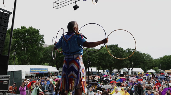 Kevin Locke: Native Hoop Dance