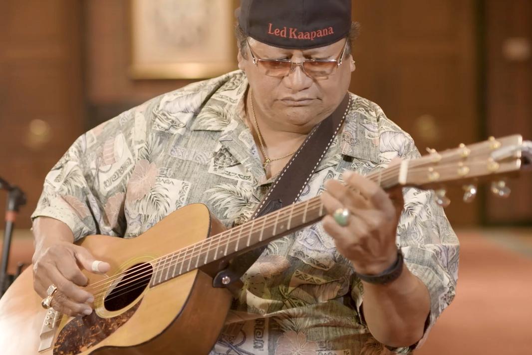 Legend and Legacy: Hawaiian Slack-Key Guitar with Ledward Kaapana    Smithsonian Folklife Festival