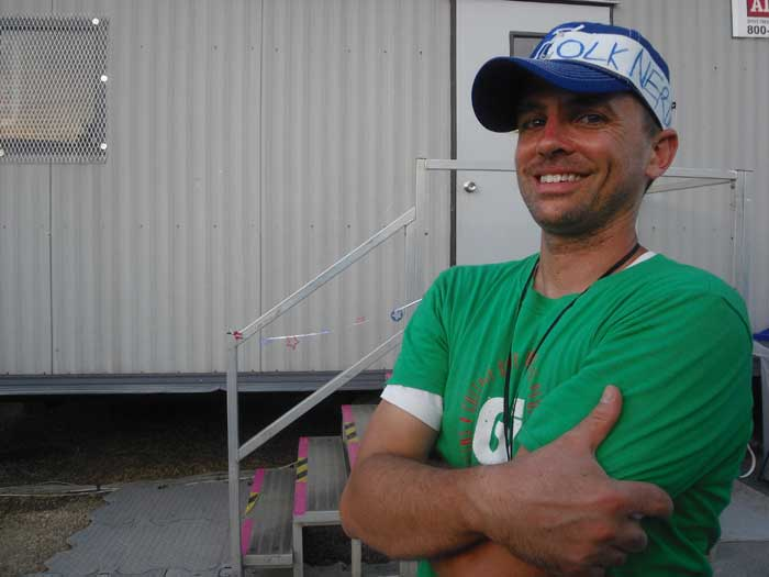 A Day in the Life: Festival Warehouse Coordinator Jason Morris