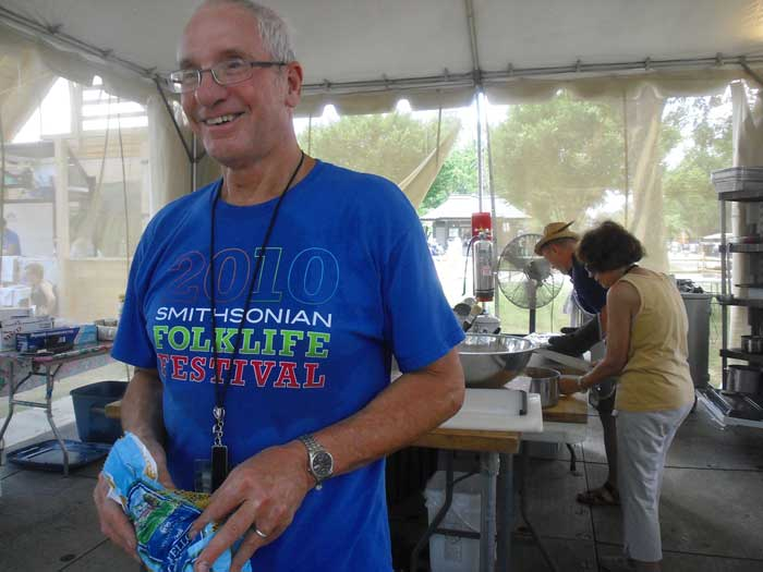 A Day in the Life: Foodways Coordinator Arnie Malin