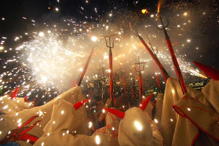 diables celebration in vilafranca catalonia photo courtesy of wikimedia creative commons cc by