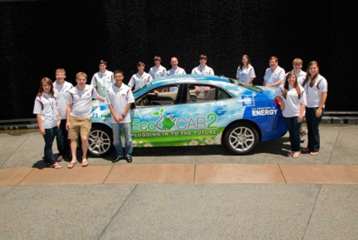 Plugging in to the Future: First Place Winner in EcoCar2 Competition