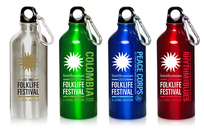 Promoting Sustainability on the Mall: Collectible Water Bottles