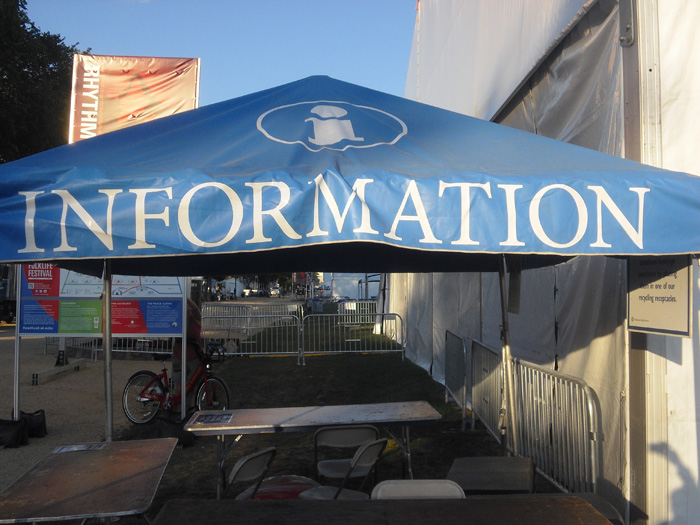 Festival Information Tent