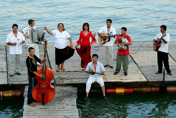 Roma music ensemble Parno Graszt. Courtesy photo