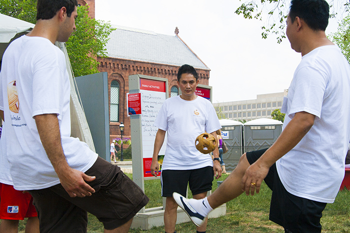 Burmese Caneball at the Olympics?