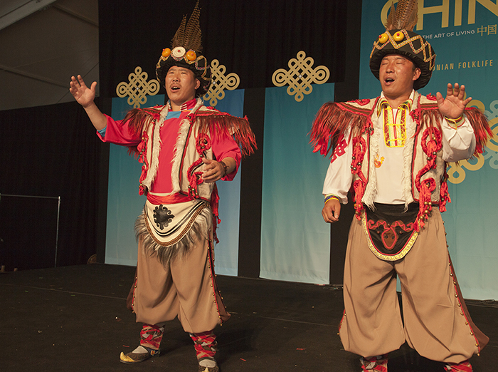 Reviving a Culture with Qiang Folksongs