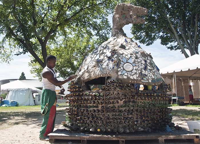 Festival Audio: Interview with Recycling Artist Isaac Kibe