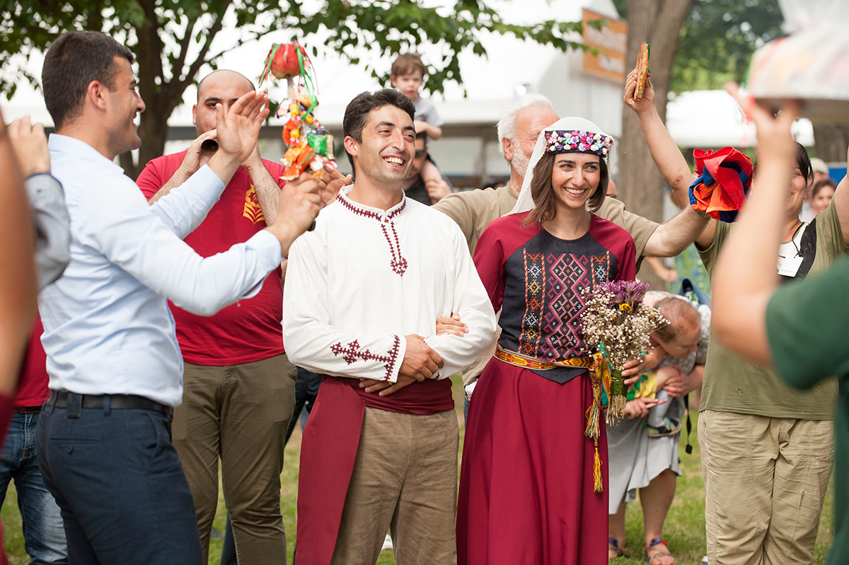 Hopa! Rituals and Symbols of an Armenian Wedding