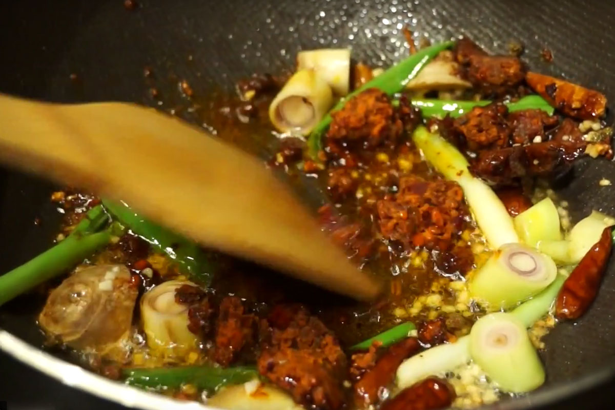 Foodways Friday: Sichuan Griddle Vegetables