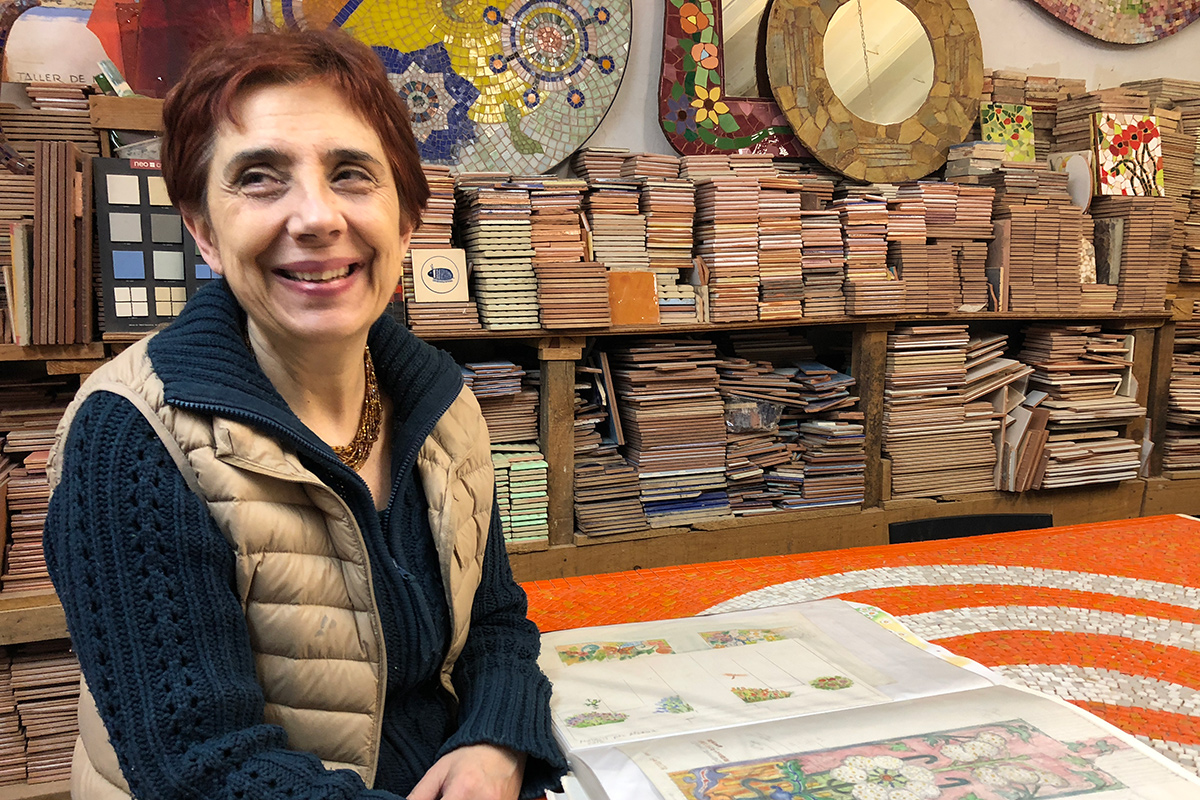 Painting with Tile: Spotlight on Mosaic Artist Lívia Garreta