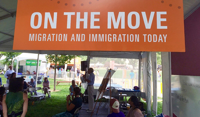 On the Move: Visitor Engagement on Immigration and Migration