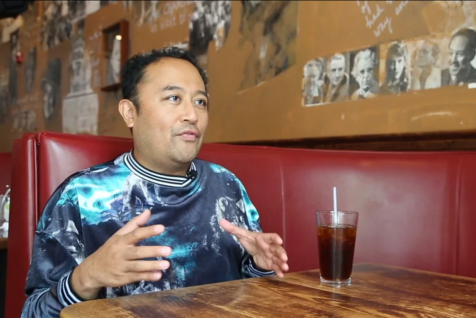 Five Minutes of Political Theater: An Interview with Spoken Word Poet Regie Cabico
