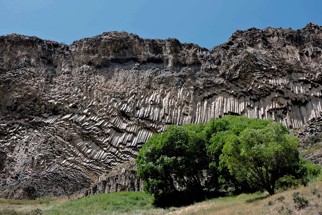 Volcanic landscape in southern Armenia. Photo by Michael Gfoeller