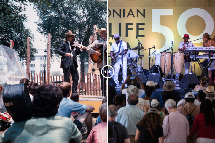 Then and Now: The Festival in Photographs
