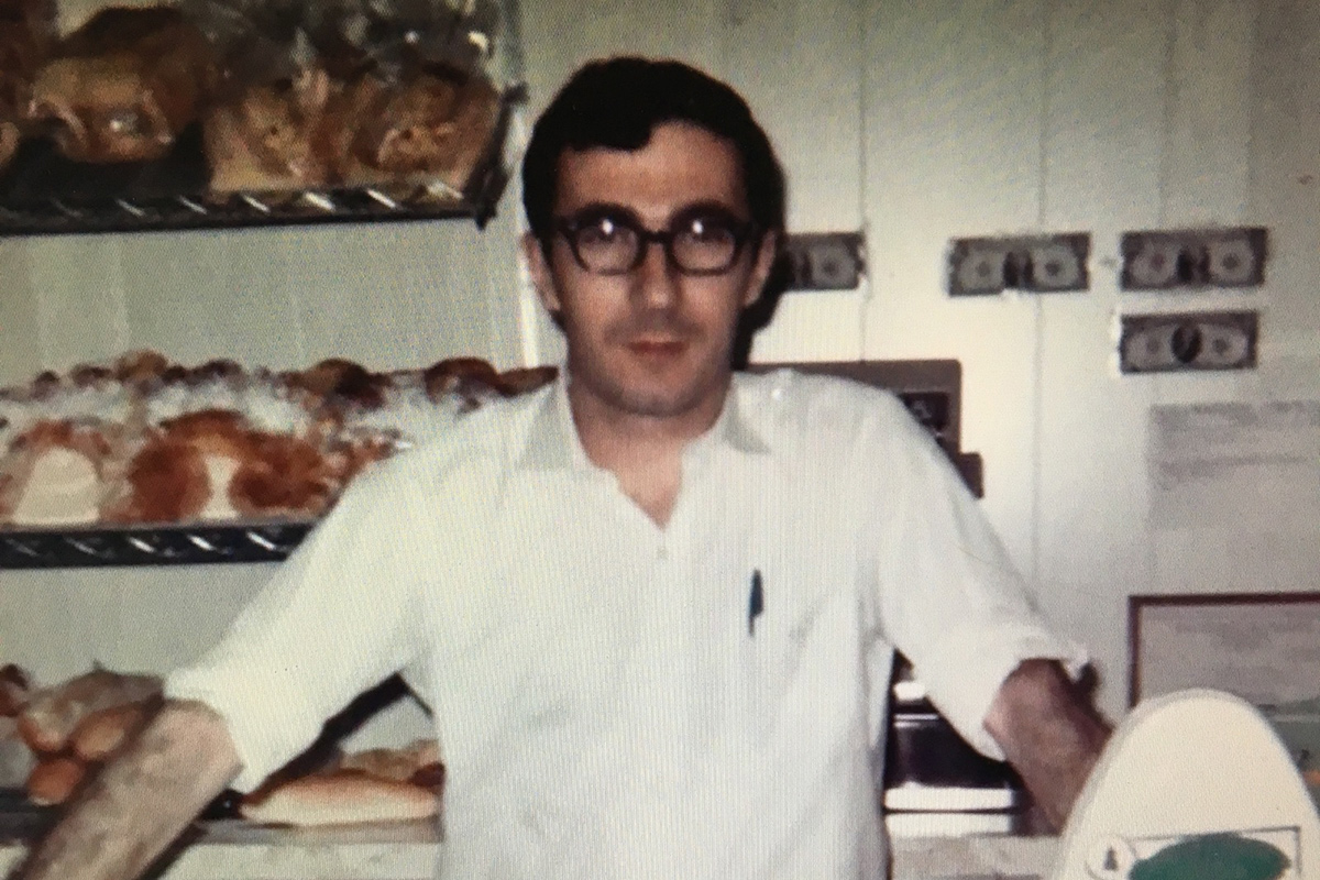 Harry Toufayan working at the family bakery. Photo courtesy of Toufayan Bakeries