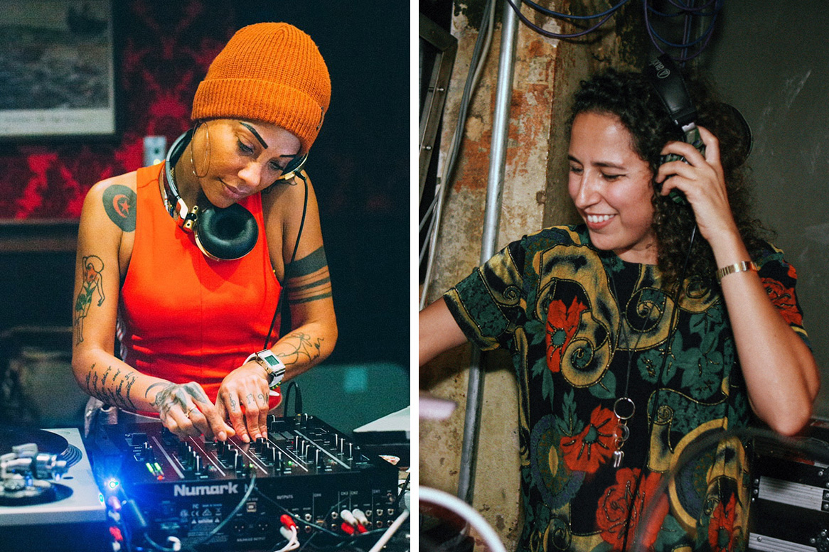 DJ Leydis (left) and Kristy la rAt. Photos courtesy of the artists