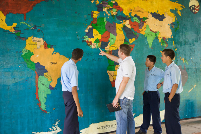 Peace corps world map project smithsonian folklife festival students gumiabroncs Images
