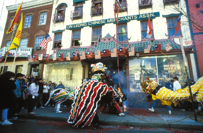 Chinatown celebration in the United States