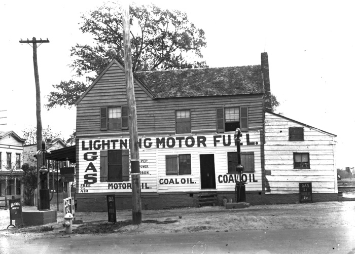 In the 1950s, the gas station on the corner of Good Hope and Naylor roads was a neighborhood landmark for the growing East of the River communities.