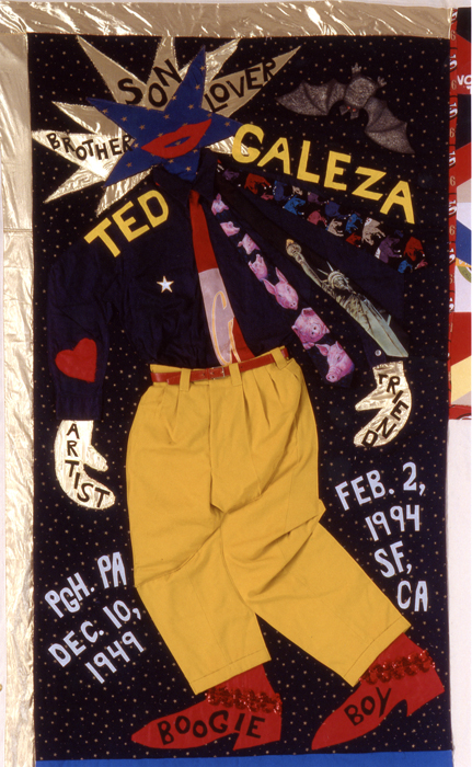 Panel made for Ted Galeza, block 05070