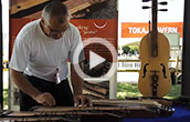 Performance by Hungarian Zither Maker Tibor Gats