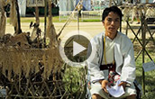 "Native Koro-speaker Khandu Degio on the tradition of building bamboo ""spirit houses"""