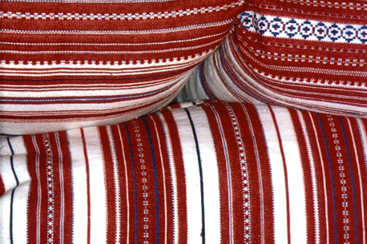 Woven textiles are used as bedding as well as clothing.