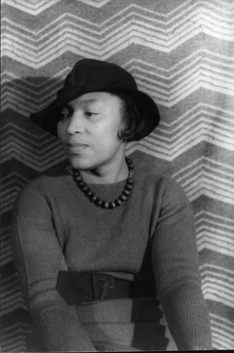 Folklorist, anthropologist and exemplar of style Zora Neale Hurston.