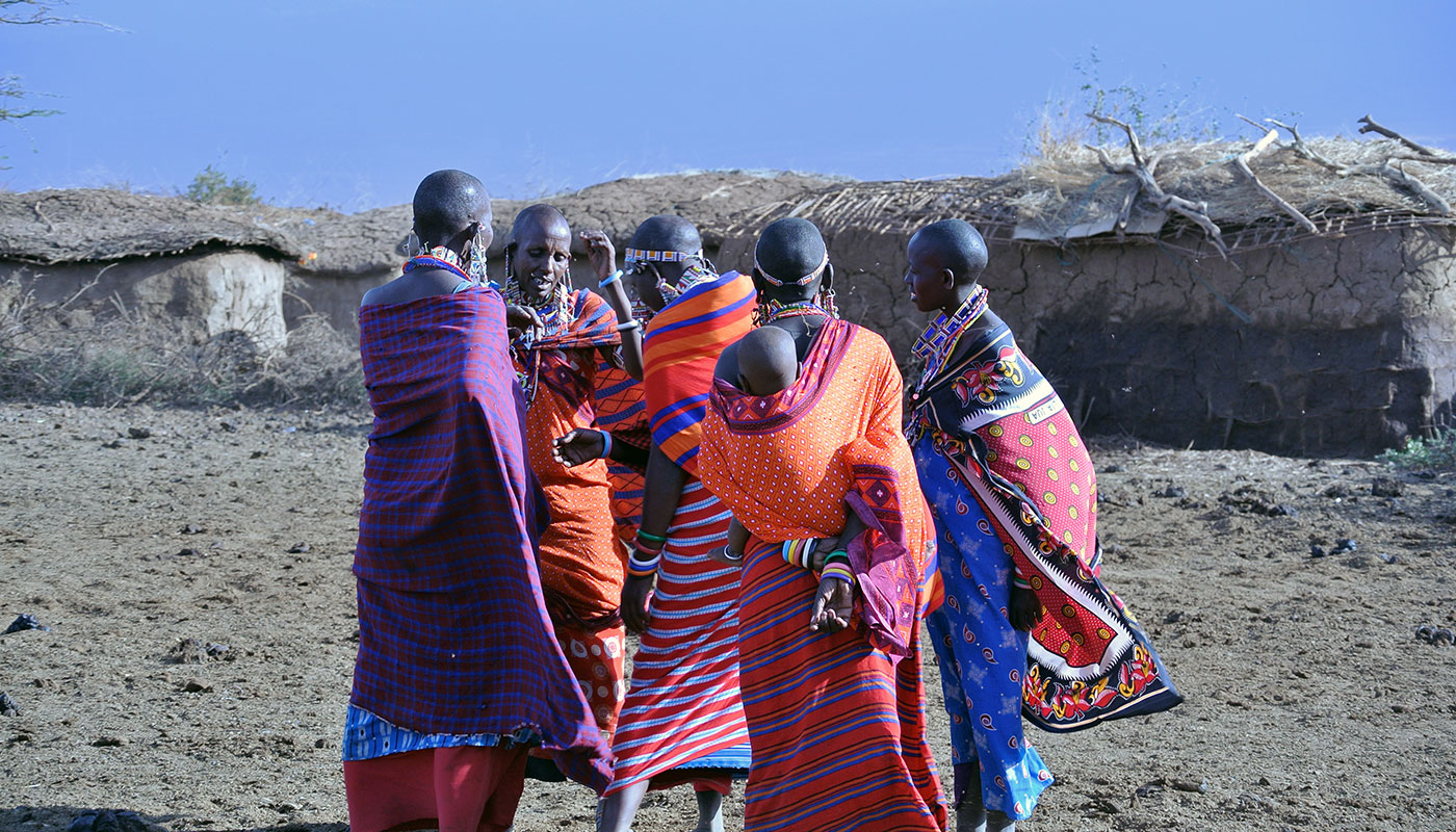 There are over forty distinct ethnic groups living in contemporary Kenya. Many are pastoralists who continue to define their identities by their relationship with the land, but who, like people everywhere, are finding it necessary to explore ways to adapt to new and changing environmental and social realities. Photo by Preston Scott