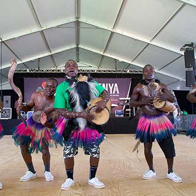 Dancers from Kakamega County