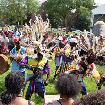 Ramogi Dancers from Homa Bay County