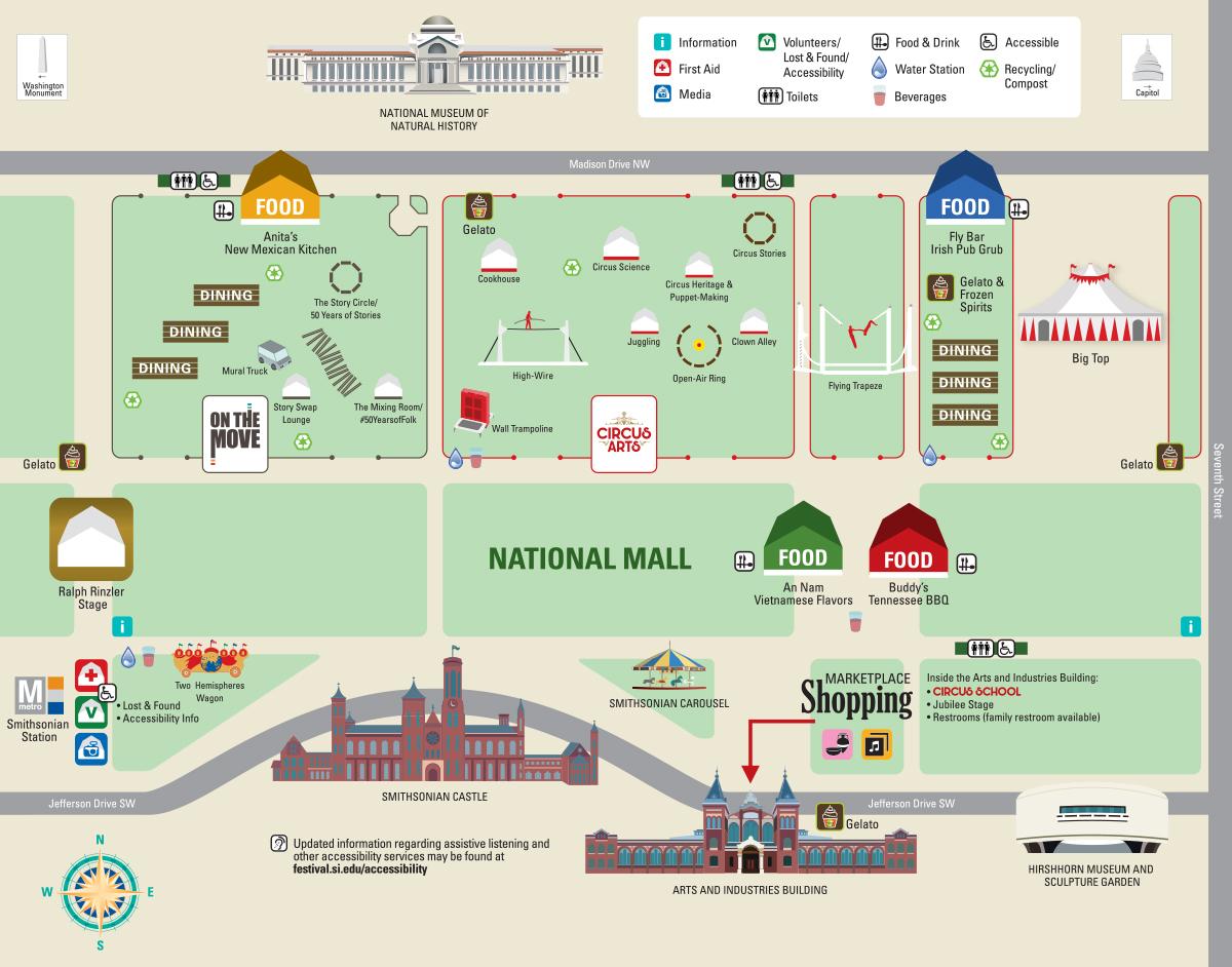 festival map smithsonian folklife festival