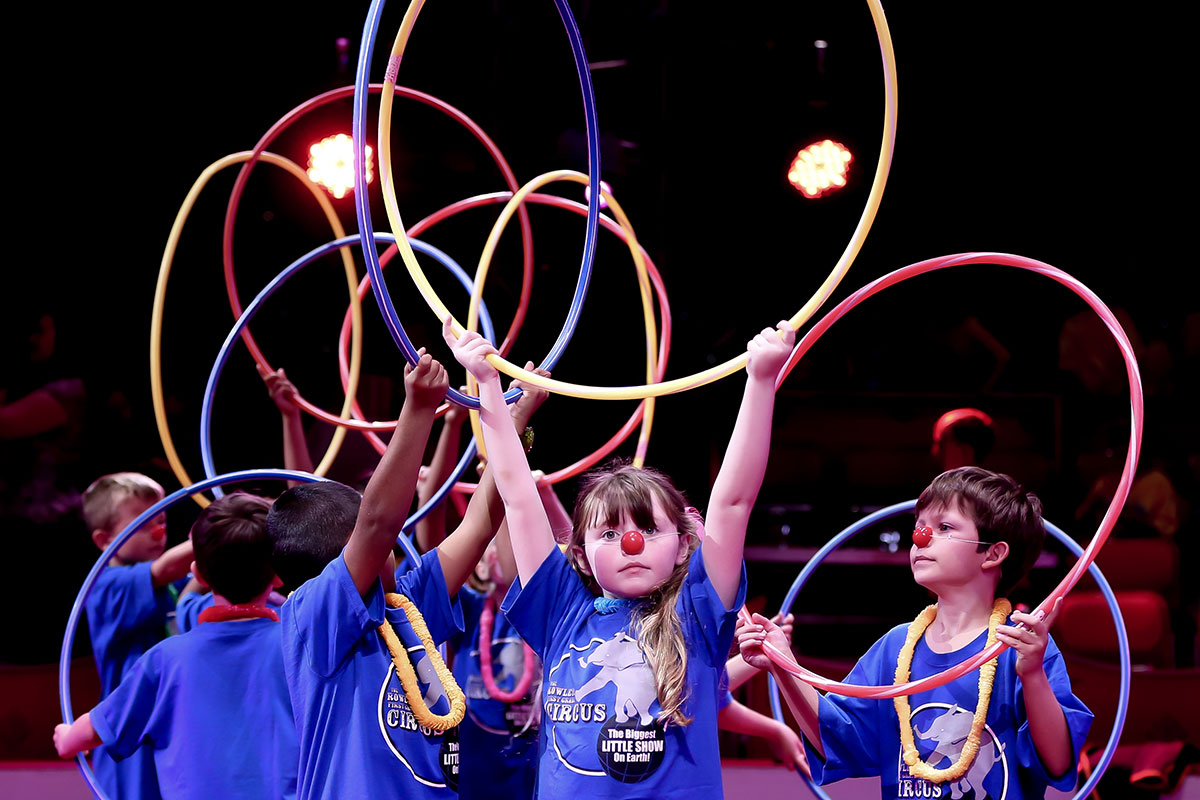 Build-a-Circus offers students a chance to perform while using teamwork, circus-style!
