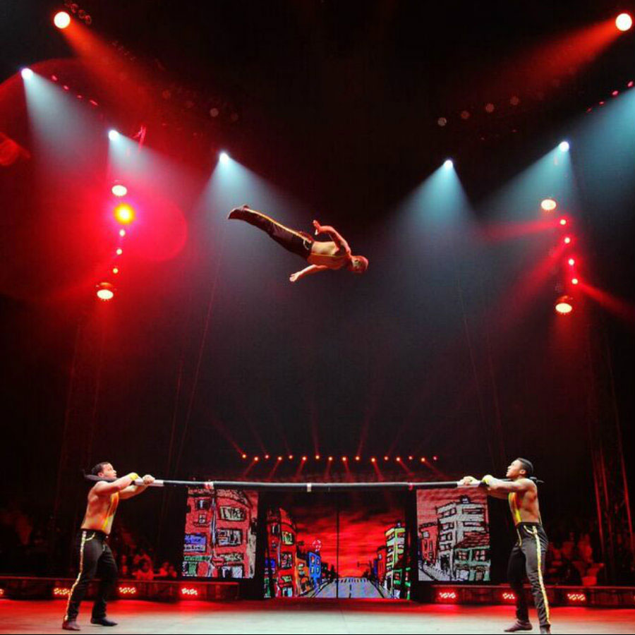 Photo courtesy of UniverSoul Circus