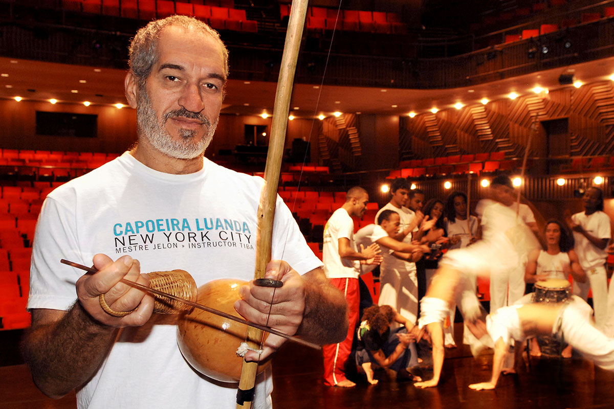 Credited as one of the first artists to bring Brazilian capoeira to the United States in the 1970s, Mestre Jelon Vieira continues to inspire future generations through his commitment to education and choreography.