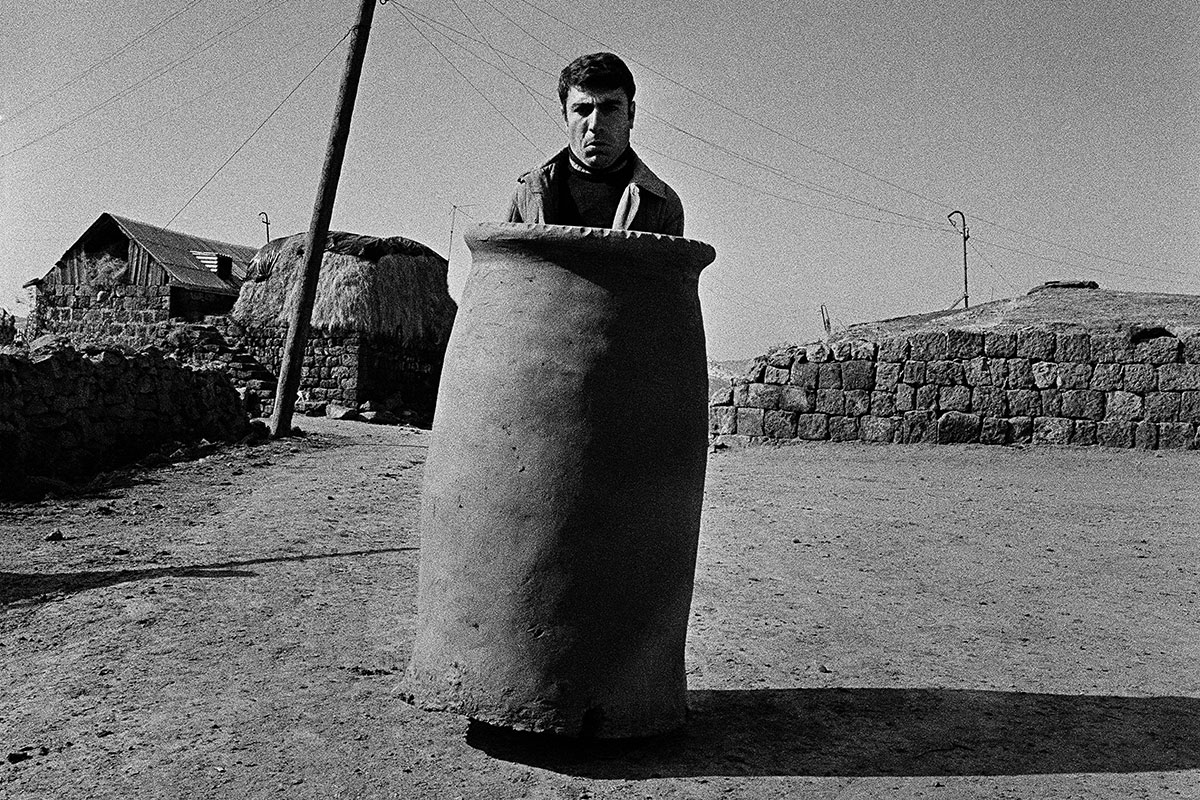 """Tonir,"" from the series Tonir, Sarnaghbyur village, Shirak Province, 1987."
