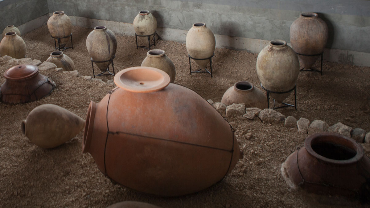 In both the ancient and recent past, wine in Armenia was made in karas, a large clay vessel that was semi-buried in the ground. Zorah Wines is revitalizing this lost production of karasin Rind village.