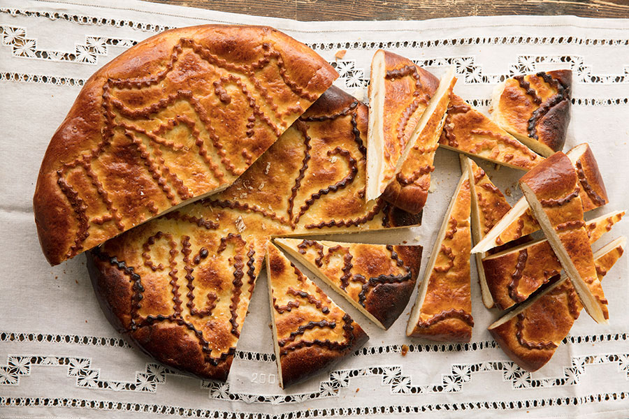 Gata—the Armenian cake that makes magic out of flour, sugar, and butter.