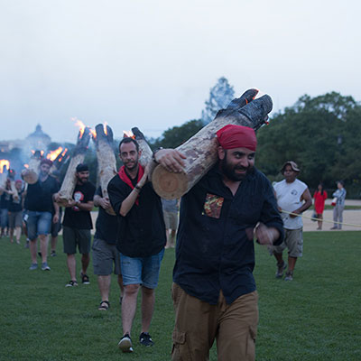 Burning Bright: A Procession of Fire on the National Mall