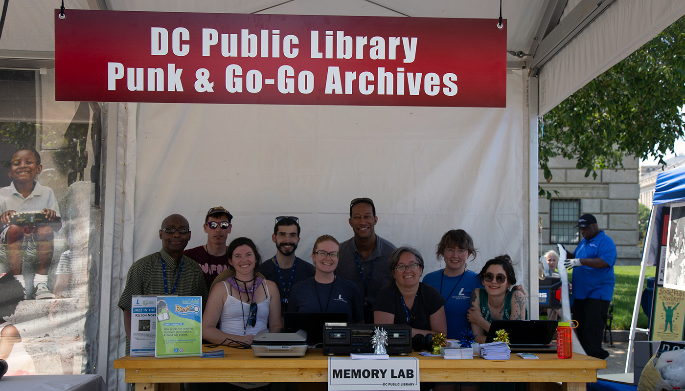 DC Public Library Punk & Go-Go Archives